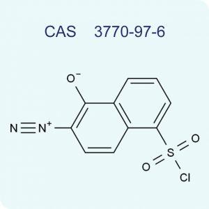 2-diazo-1-naphthone-5-sulfonic acid chloride